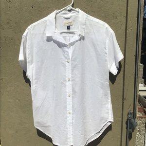 Target Universal Thread White Button Down Blouse